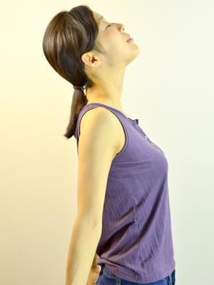 背骨の矯正②2